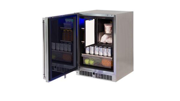 LM24REFCL 24 Outdoor Refrigerator Freezer Combination Left Hinge