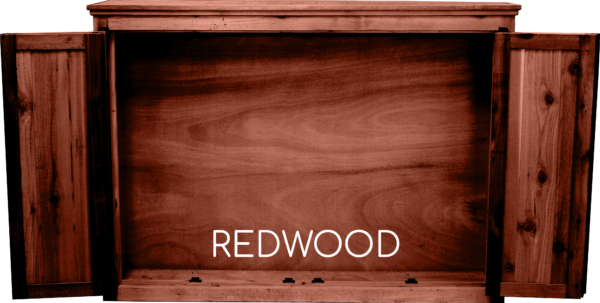 Redwood Tv Cabinet Open