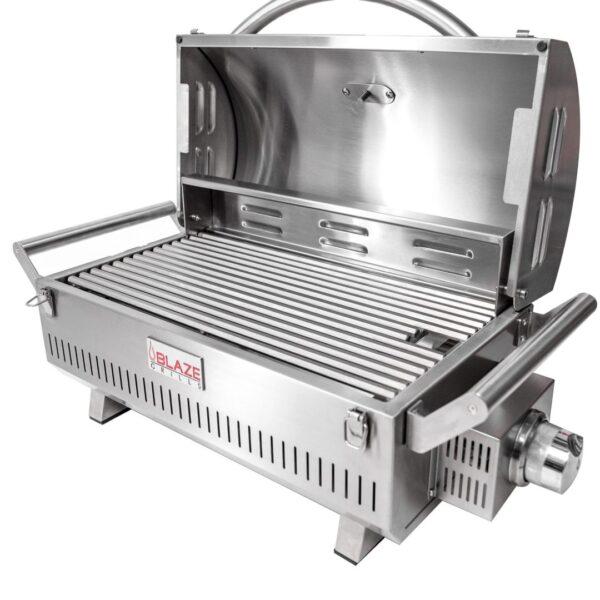 Blaze Portable Entire Grill Open Scaled