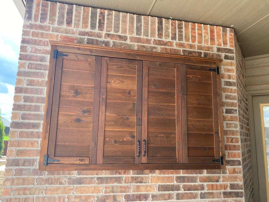 TV Enclosure Cedar