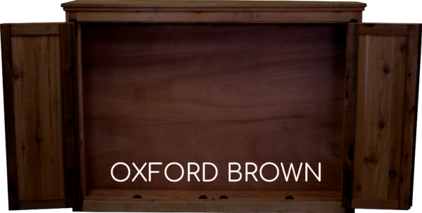 Oxford Tv Cabinet Open